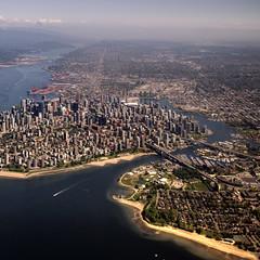 Throughfare (ecstaticist - evanleeson.com) Tags: city urban canada history vancouver aerial line
