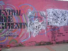 FESTIVAL 3 (Assi-one) Tags: street art colors festival 22 calle stencil graf caracas tetas kennedy blanconegro pochoir culos schablonen plantillas erotico maricas mascherine assione