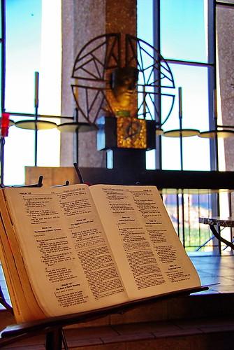 Psalm 128 - The Happy Home of the Just - Chapel of the Holy Cross - Sedona Arizona