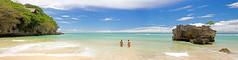 Paradise in a Panorama. (Matthew Post) Tags: blue bali panorama beach indonesia paradise explore uluwatu padang explored padangpadangbeach