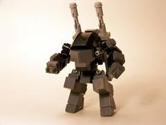 'GOAT' (A YATES INDUSTRIALS.[ ILL-LEGO ]) Tags: micro mecha mfz