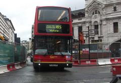 London Central PVL313 on route 185 Victoria 28/04/12. (Ledlon89) Tags: bus london buses volvo transport central victoria londonbus tfl pvl goahead plaxtonpresident
