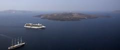 La hija de Santorini (Nebelkuss) Tags: mediterranean mediterraneo santorini greece grecia greekislands islas volcan aegeansea cicladas maregeo