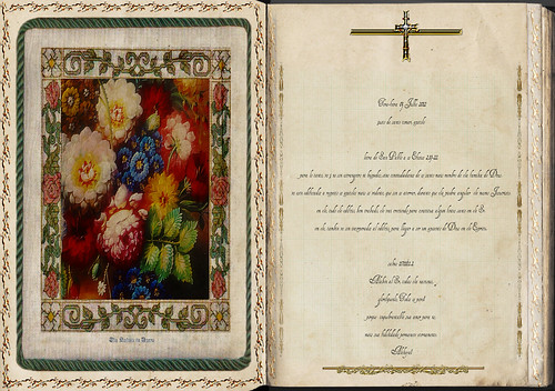 Letra de San Pablo a os Efesios 2,19-22. Obra Padre Cotallo