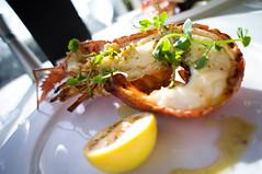 Crayfish with garlic & prelibato butter (Candiicandii) Tags: newzealand food bokeh sony viaduct auckland nz crayfish nex5n
