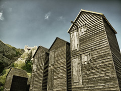 Fisherman's Huts. (BarleycornTed) Tags: beach hastings eastsussex cliffrailway fishermanshuts hastingshuts