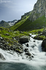 Glacial Flow (Philip Field) Tags: longexposure alps water landscape switzerland landscapes nikon europe nd runningwater valais verbier swissalps mountainstream blackglass lacdelouvie neutraldensity louvie fionnay landscapebeauty hoyand400 d7000 hoyandx400 nikond7000 philipfield philfield
