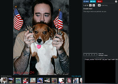 Larry and Pat in the Huffington Post (faith goble) Tags: musician dog man art beagle tattoo night beard photo screenshot fireworks kentucky ky flag smoke faith young picture wave patriotic slideshow 4thofjuly fourth bowlinggreen 2012 goble faithgoble patrickgoble gographix faithgobleart