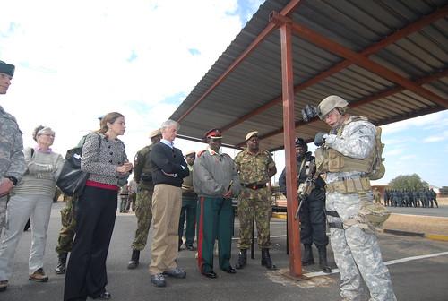 U.S., Botswana Special Forces train togethe