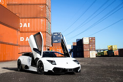Super Veloce. (Tom Fraser Photo) Tags: white up sex cool shoot doors shot thomas australia melbourne best container fraser crate hyundai ever lamborghini bianco sv lambo avus lorimerst containeryard superveloce tomfraser photoshootlocations murcielagosv lp6704 lp6704sv lp670sv alexpenfold t0m722 murcielagosvmelbourne svinmelbourne murcielagosvspotted photoshootlocationsmelbourne lorbekcars lorbekluxurycars
