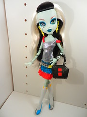 Frankie Fashion (alexbabs1) Tags: color fashion monster hair toys design us high doll barbie style frankie r stein mattel  hairtastic i fashionfrankie
