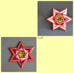 Star Katharina by Carmen Sprung (esli24) Tags: origami origamistar weihnachtssterne papiersterne origamisterne esli24 ilsez starkatharina camensprung