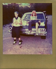Ritzy_Peach thugPola002 (Onelog Photography) Tags: lighting sexy film tattoo polaroid losangeles friendship nashville gang hardcore 600 40 shotgun bandana impala handgun gangsta speedlight pinup brassknuckles acros rollin pushprocessed baller goldframe thelmaandlouise princesspeach ritzyriot