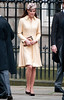 Catherine, Duchess of Cambridge aka Kate Middleton at St Giles Cathederal to attend the Thistle Ceremony on July 5, 2012 in Edinburgh, Scotland. Prince William, Duke of Cambridge will be installed into the historic Order of the Thistle Edinburgh, Scotland