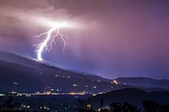 lightning hitting snowmass colorado (tmo-photo) Tags: bravo fav20 fav10