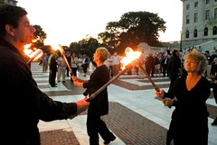 Torches ready!