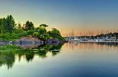 Eloquent Silence (Northern Straits Photo) Tags: sunset summer nature beautiful landscape boats sailing bc harbour britishcolumbia awesome victoria vancouverisland blueskies top10 northernstraitsphotography ireenanieuwenhuisworthy