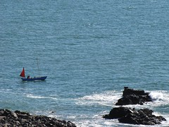 Sailing for the Day (Jani Helle) Tags: scotland boat portpatrick dumfriesandgalloway sailingboat portphdraig september2011