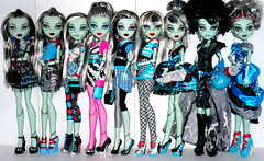 Monster High Frankie Stein Collection (BarbWireBlonde2) Tags: beach home out dawn 1 dance scary doll day classroom tales sweet wave 1600 gloom schools rule mattel basic maul ick ghouls
