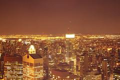 City that never sleeps (Génial N) Tags: ny newyork skyscrapers pentax manhattan citylights nycity pentaxkr