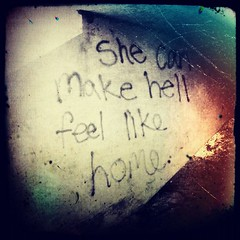 ... (Mitchypop) Tags: graffiti instagram pixlromatic