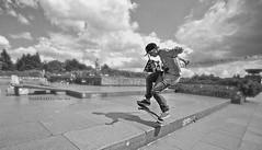 Art of Skateboarding , Prag (Patrick KAAS) Tags: street urban bw white black berlin eye art canon underground one photo und noir foto shot prague hawk kunst patrick prag praha nb tony skatepark skate sw et weiss blanc schwarz skateboarder titus kaas métronome métronom