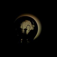 La lampadina che sognava di essere la luna (francesco1969) Tags: moon lightbulb dream luna desire wish lampadina sogno desiderio