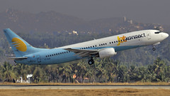 JetKonnect B737-800 VT-SJI (Aiel) Tags: bangalore boeing b737 canon100400l b737800 jetairways canon60d vtsji jetkonnect