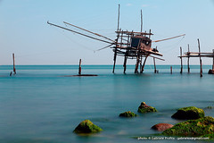 "Trabocchi di San Vito Chietino - long exposure <a style=""margin-left:10px; font-size:0.8em;"" href=""http://www.flickr.com/photos/24828582@N00/13329963673/"" target=""_blank"">@flickr</a>"