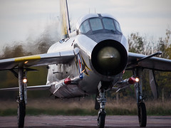 Lightning T5 (davepickettphotographer) Tags: vintage fighter aircraft jet bedfordshire t5 lightning coldwar avation cranfield englishelectriclightning coldwarjet russellcarpenter dennisbrooks cranfieldairfield lightning458 lighningt5 wwwlightningt5com