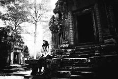 Chau Say Tevoda ( / LINUS) Tags: bw cambodia gr siemreap angkor ricoh chausaytevoda