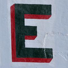 letter E (Leo Reynolds) Tags: canon eos e 7d letter f80 oneletter eee iso1000 0004sec hpexif grouponeletter 169mm xsquarex xleol30x xxx2014xxx