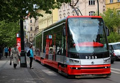 SKODA 15T For City Tram - DP (Public Transport) Prague Czech Republic (scotrailm 63A) Tags: czech prague trams skoda 15t