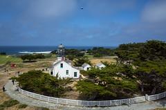 KAP on Point Pinos Lighthouse (Pierre Lesage) Tags: california seaside kap ricohgr kiteaerialphotography pointpinos ligthouse autokap pierrelesage kapstock tahitipix deltar11 kapica2016
