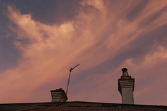 from any backyard (Ted Ahearne Student Photographer) Tags: morning roof clouds sunrise canon photography tinroof