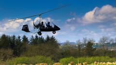 IMG_0567 (ppg_pelgis) Tags: school ireland summer flying may northern flyin airfield gyro tyrone autogyro 2016 omagh carrickmore gyroplane