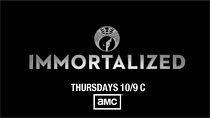 Immortalized, promotional logo 3, AMC cable television competitive fine art reality show, new unscripted original series, Premieres February 14, 2013, Copyright  2010-2013 AMC Network Entertainment LLC. All rights reserved.181 dk_amc_immort_feb (searabbits23) Tags: ny newyork sexy celebrity rabbit art hat fashion animal brooklyn asian coneyisland japanese star tv google king artist dragon god manhattan famous gothic goth uma ufo pop taxidermy vogue cnn tuxedo bikini tophat unitednations playboy entertainer oddities genius donaldtrump mermaid amc mardigras salvadordali performer unicorn billclinton seamonster billgates aol vangogh curiosities sideshow jeffkoons globalwarming mart magician takashimurakami pablopicasso steampunk damienhirst cryptozoology freakshow realityshow seara immortalized takeshiyamada roguetaxidermy searabbit barrackobama ladygaga climategate  manwithrabbit