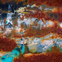 From A Distance (StephenReed) Tags: abstrct art abstractart metal paint chippedpaint rust nikond3300 stephenreed fromadistance