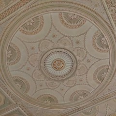 The wonder of plaster, Harewood House (gowersaint) Tags: england house history home architecture design pattern artistic britain geometry decorative yorkshire leeds plaster ceiling historic statelyhome maths skill plasterwork stately artistry harewood
