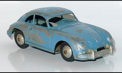 PORSCHE 356 Coupe (1994) QUIRALU L1100748 (baffalie) Tags: auto old classic car vintage toys miniature voiture coche jouet diecast jeux