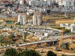 Ttouan Bus Station (Yassine Abbadi) Tags: road bridge sea sky cloud mountain beach grass plane sunrise buildings spring hill mosque morocco maroc hdr tetuan tetouan martil bouanane
