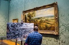 Arte en primera estancia (Una Cereza Perdida) Tags: london arte galeria nationalgallery londres pintura pintar