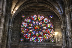 Rose Window in Sainte-Eustache (gr8fulted54) Tags: paris nikon hdr on1 photomatix tonemapped d7100