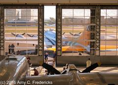 Santa Ana CA - Lyon Air Museum - B-17 Flying Fortress (etacar11) Tags: california meetup wwii airplanes b17 museums flyingfortress fuddyduddy santaanaca lyonairmuseum