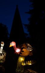 _DSC9655_2 (Elii D.) Tags: light fish flower animal night zoo monkey neon dragons lantern lampion dargon