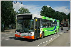 Travel de Courcey 544, Evreux Way (Jason 87030) Tags: road sun man bus tree green june town flickr rugby quality sony air vinyl evolution luck environment coventry alpha warwickshire livery 2016 585 ilce warks a6000 arthurbradley traveldecourcey