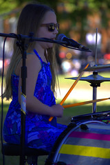 Awesome Drummer and Singer (swong95765) Tags: music girl drums kid musical talent singer instruments