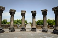Zvartnots Cathedral - Armenia (Agnieszka Eile) Tags: caucasus southcaucasus armenia zvartnots cathedral church architecture columns orthodox religion christianity unesco ruins
