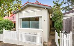3 Kalgoorlie Street, Leichhardt NSW