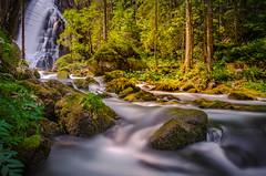 Wasserfall (Oliver H16) Tags: longexposure waterfall sterreich nikon wasser wasserfall berge langzeitbelichtung golling schwarzbach bachlauf d7000 gollingermhle
